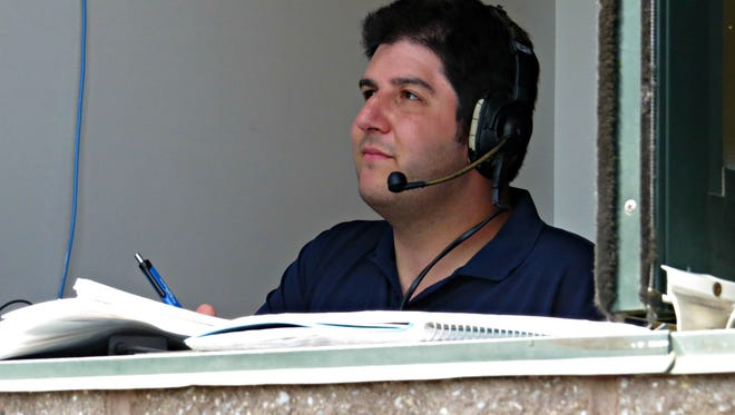 """Marc Schwartz, who has been with the team as media relations manager for the past two seasons, will now also add """"Voice of the Patriots"""" to his duties,."""