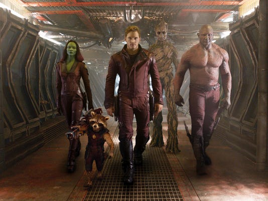 Film Review Guardians of the Galaxy