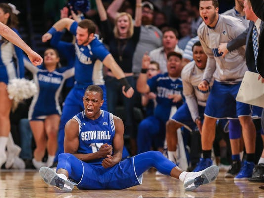 NCAA Basketball: Big East Conference Tournament-Seton Hall vs Villanova