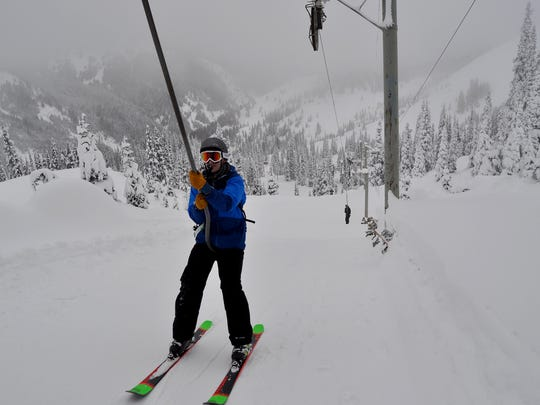 Hurricane Ridge's 45-year-old Poma ski lift harkens
