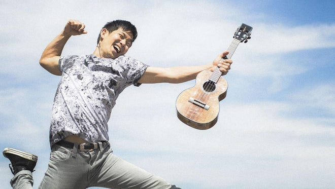 """Young ukulele superstar Jake Shimabukuro is the subject of the Public Broadcasting System documentary """"Jake Shimabukuro: Life on Four Strings,"""" which opens Door Community Auditorium's Movies at the Door series Jan. 13."""