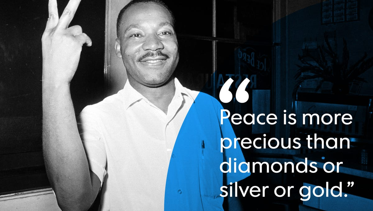 Martin Luther King Jr Quotes From Nobel Peace Prize Speech