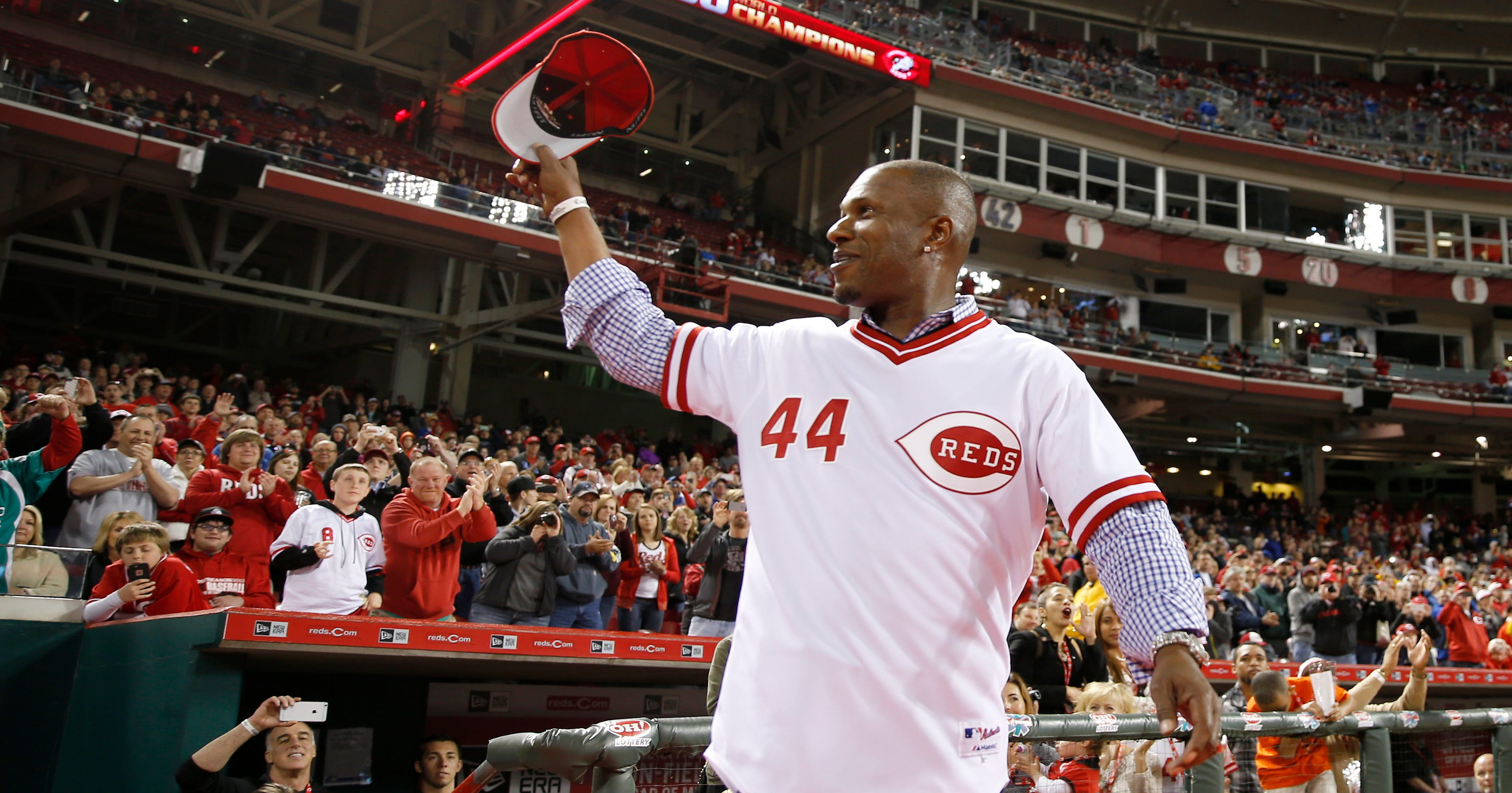 5ba31f9d0 Reds Opening Day  Eric Davis to throw ceremonial first pitch to Johnny Bench