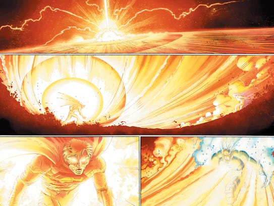 The Man of Steel unleashes a very destructive new power