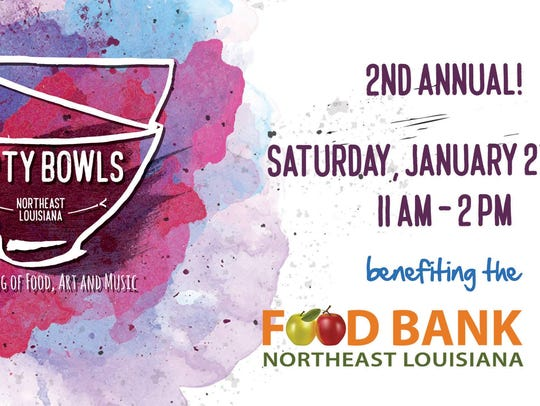 The Empty Bowls fund raiser for the NELA Food Bank