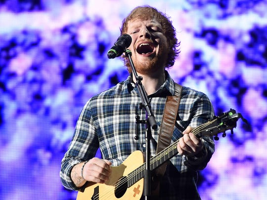 Ed Sheeran takes over the Marcus Amphitheater on Friday
