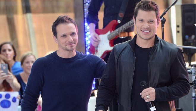 Drew Lachey and  Nick Lachey of 98 Degrees fame are shooting a reality TV series for A&E about opening a bar in Over-the-Rhine.