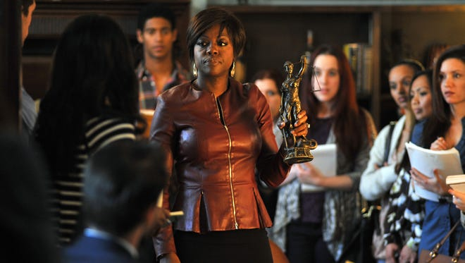 """Viola Davis stars as professor Annalise Keating in ABC's """"How To Get Away With Murder."""""""