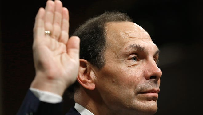 The Senate on Tuesday voted 97-0 to confirm Robert McDonald as President Barack Obama's new secretary of Veterans Affairs.