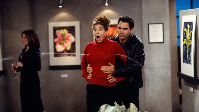 Debra Messing's malfunctioning water bra from 'Will & Grace' is one of the comedic moments featured in 'Funniest of the Funniest: A Paley Center for Media Special.'