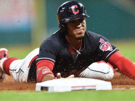 19. Indians 11, Tigers 0: Cleveland's Francisco Lindor