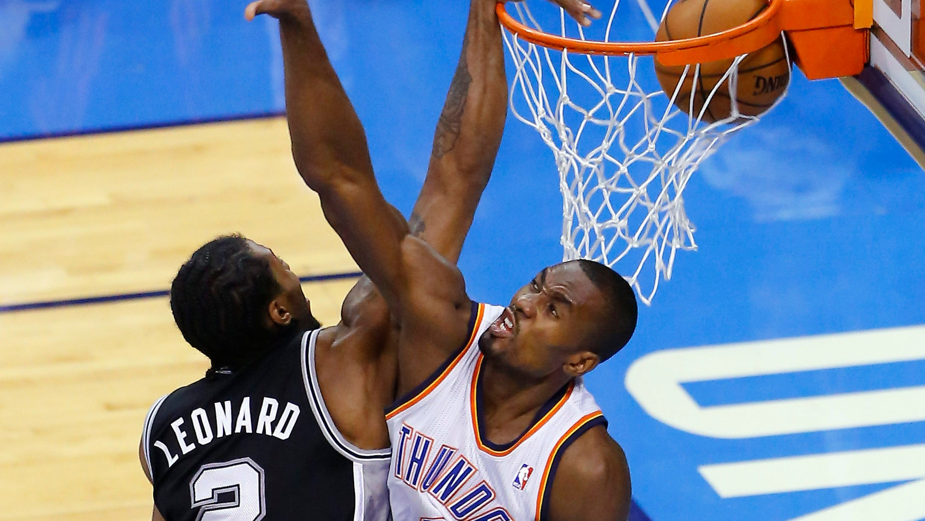 Spurs top Thunder in six for Finals rematch with Heat