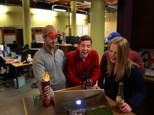 Workers play and players work at unusual St. Louis tech company