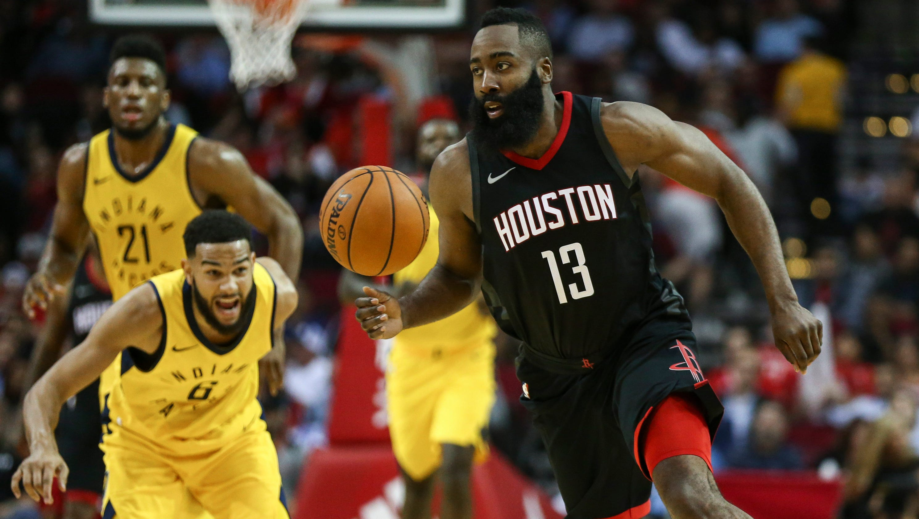 James Harden, Chris Paul pairing has Rockets playing like title contenders