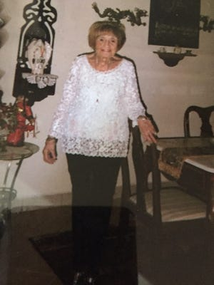 Norah Shannon pictured in an undated photograph. Shannon died of heat-related causes in 2016.