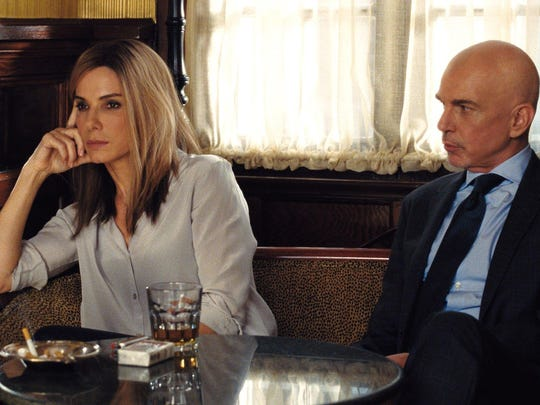 "Sandra Bullock and Billy Bob Thornton play rival political consultants in ""Our Brand Is Crisis."""