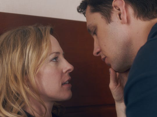 """Travis (Matt McGorry) and Ellen (Amy Hargreaves) embark on an affair despite their age difference in """"How He Fell in Love."""""""