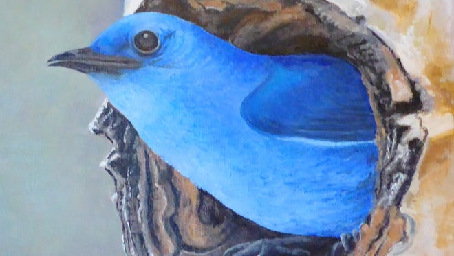 """""""A Bluebirds Home in Aspen,"""" recently won the People's Choice Award."""