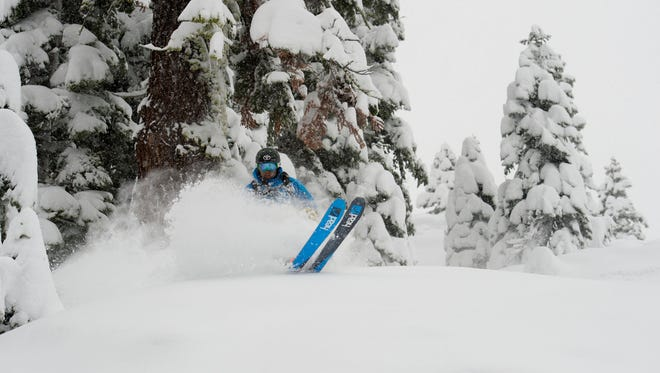 """Jonny Moseley, a 1998 Olympic gold medal freestyle skier and part time Squaw Valley, Calif., resident, narrates and is a featured athlete in the Warren Miller film, """"Here, There and Everywhere,"""" screening Nov. 19 at the Reno Ballroom."""