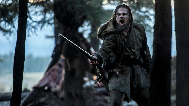 Leonardo DiCaprio plays 19th century frontiersman Hugh Glass in 'The Revenant.'