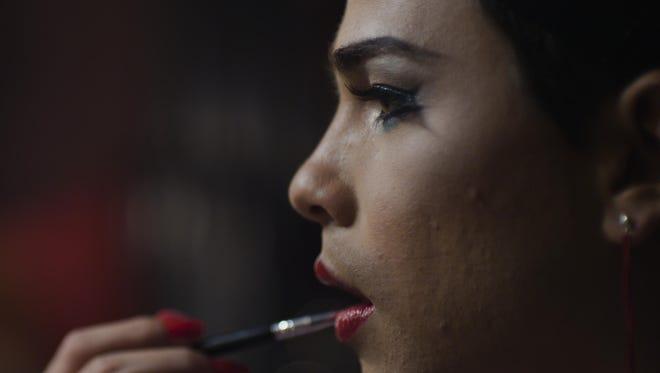 "Jesus (Hector Medina) dreams of being a drag performer in ""Viva."""