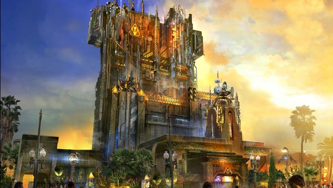 Debuting in summer 2017, Guardians of the Galaxy - Mission: BREAKOUT! will take Disney California Adventure park guests through the fortress-like museum of the mysterious Collector, who is keeping his newest acquisitions, the Guardians of the Galaxy, as prisoners. Guests will board a gantry lift which launches them into a daring adventure as they join Rocket Raccoon in an attempt to set free his fellow Guardians.