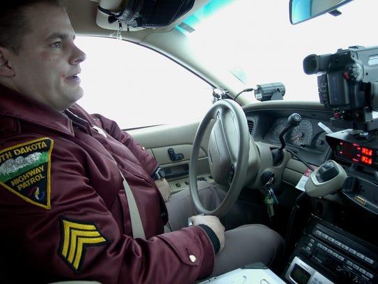South Dakota Highway Patrol Sargent, Steve Swenson