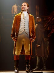 Joseph Morales plays Alexander Hamilton in the touring