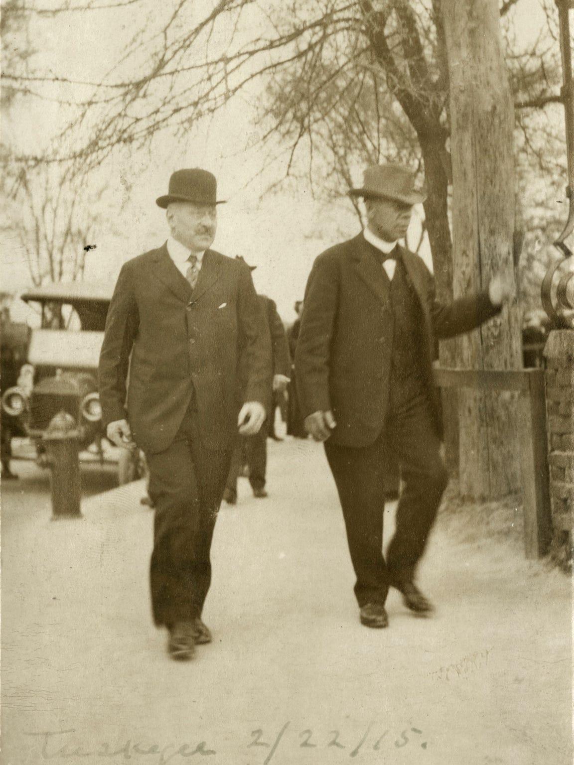 Julius Rosenwald and Booker T. Washington, Tuskegee