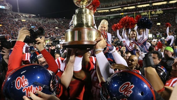 Ole Miss won the 2014 Egg Bowl. Can the Rebels repeat, or is it Mississippi State's turn again?