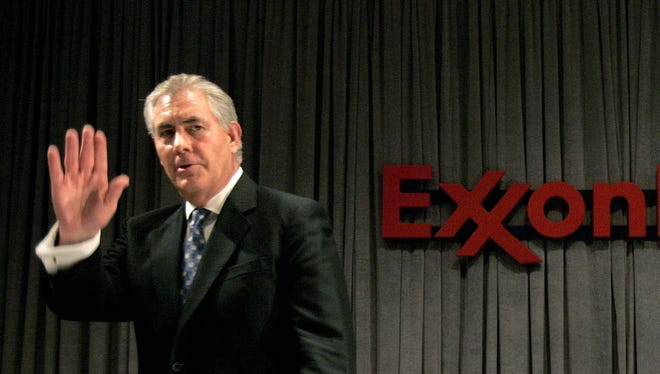 ExxonMobil CEO Rex Tillerson is President-elect Donald Trump's pick for secretary of State.
