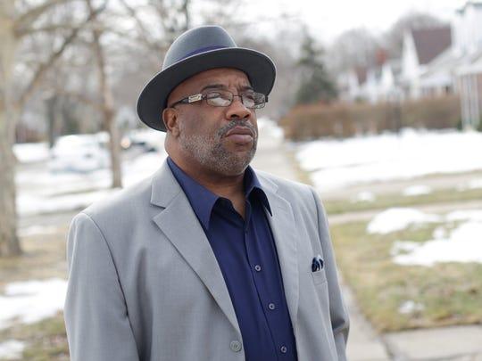 Chris Samuel of Detroit lost his daughter Christina