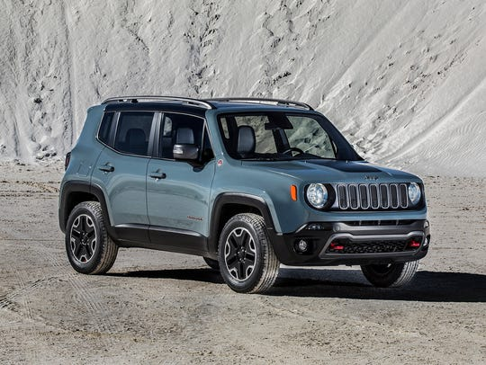 Sales of the JeepRenegade are up 57 percent in July