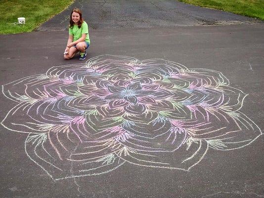 20150708 Chalk Art 1