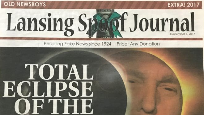 Old Newsboys topped its fundraising goal this year with the sale of the Lansing Spoof Journal.