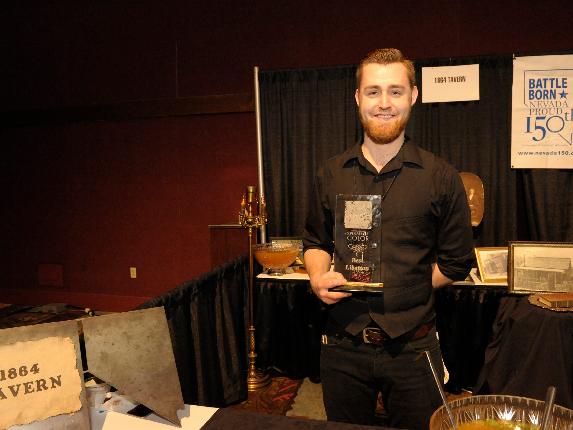 1864 Tavern, one of Reno's best craft cocktail bars, is returning as one of scores of vendors participating in 2018 Fantasies in Chocolate on Nov. 17 at Grand Sierra Resort and Casino.