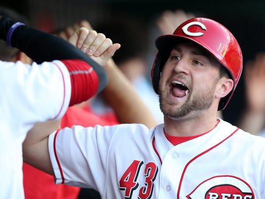 050818_REDS_333, Cincinnati Reds baseball