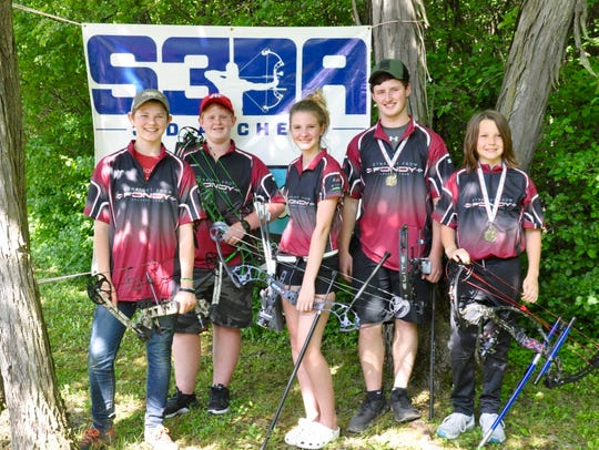 Pictured are members of the Fond du Lac archery team