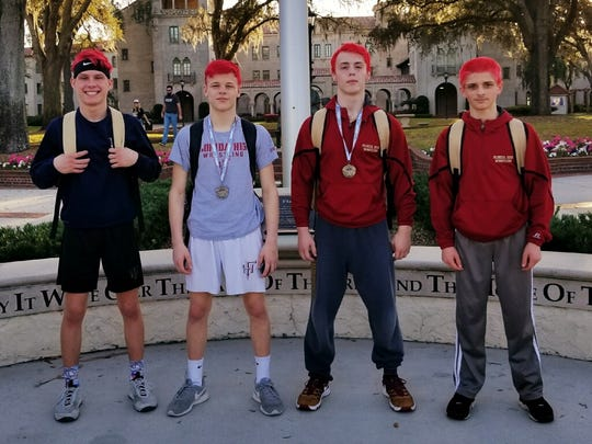 Florida High wrestling's four state qualifiers: Tyler