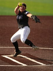 Wylie pitcher Kamwren Jackson (10) throws a pitch during