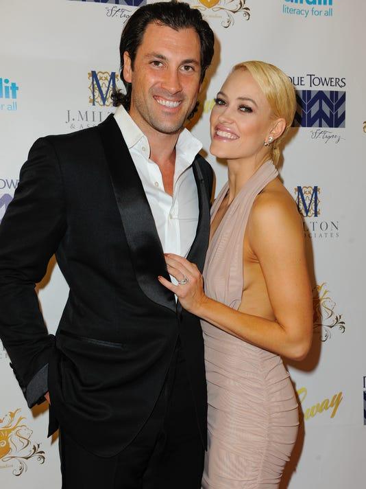 Maks Chmerkovskiy and Peta Murgatroyd Engaged - Sway Gala