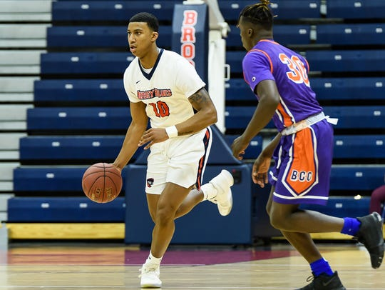 Brookdale sophomore guard Grant Goode played at St.