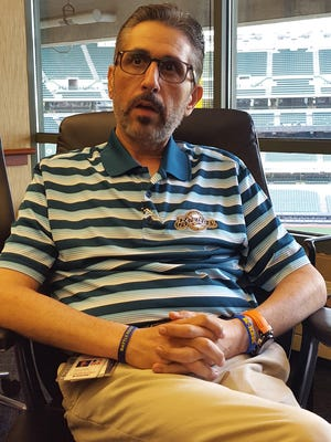 Roger Caplinger, longtime medical director for the Milwaukee Brewers, talks about his battle with pancreatic cancer.