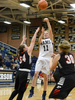 Roberson's Camryn Jansen is the Mountain Athletic Conference Player of the Year for girls basketball.