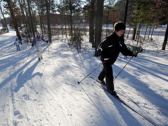 The Nepco Lake Ski Trail are open in Wisconsin Rapids.