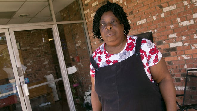 Argene Washington has recently closed her business, Teach Me Child Care on Pearl Street.