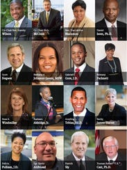 The 16 members of the Ferguson Commission