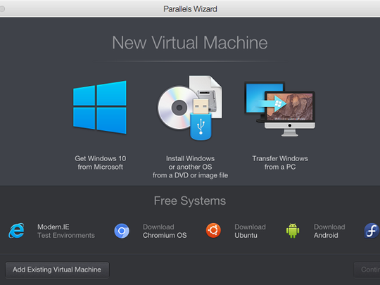 Use a program like Parallels to run Windows on your