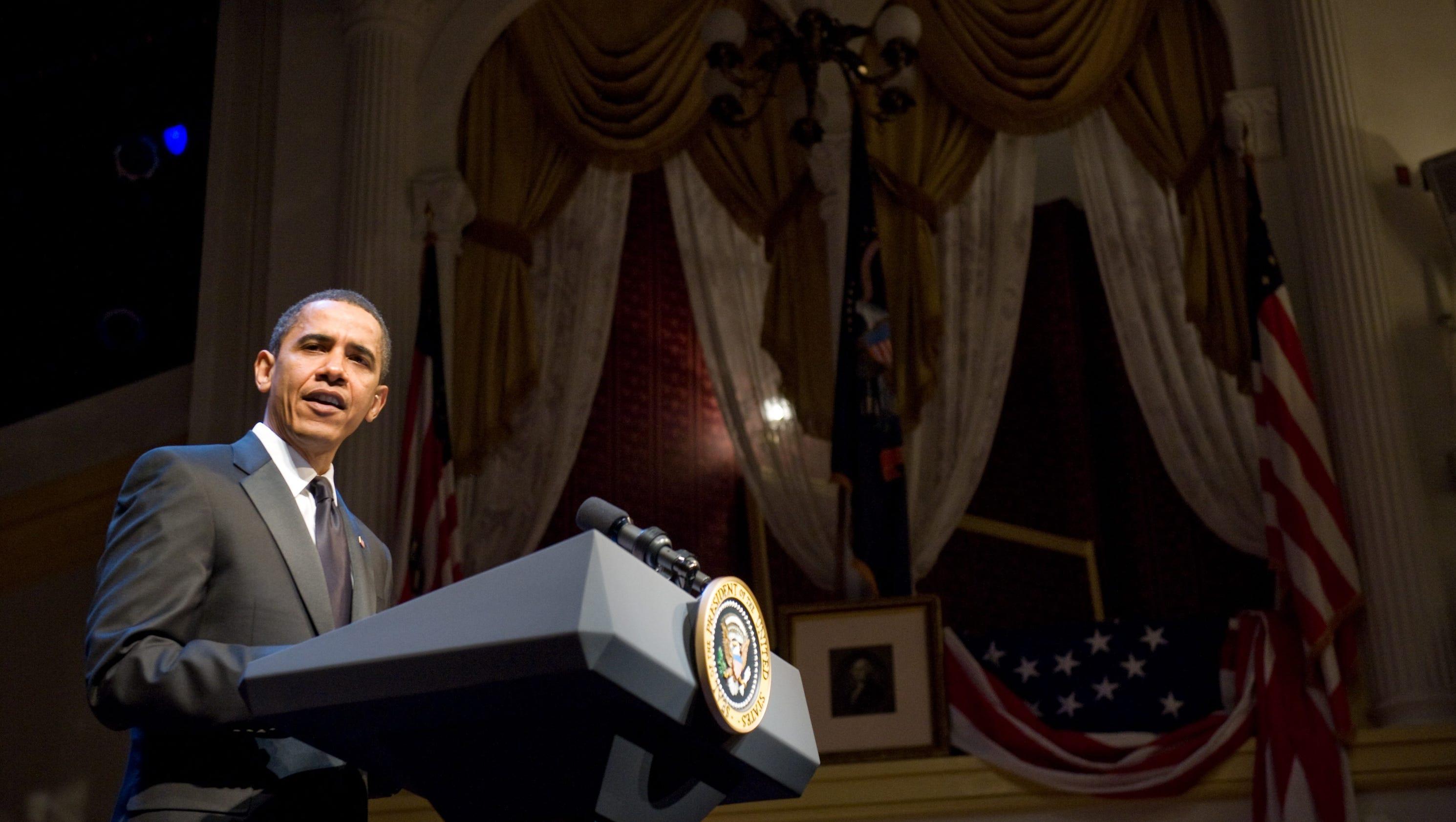 President Obama Visits National Parks