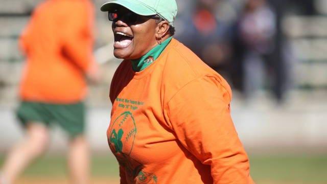 FAMU softball coach Veronica Wiggins won her 700th career game Saturday.